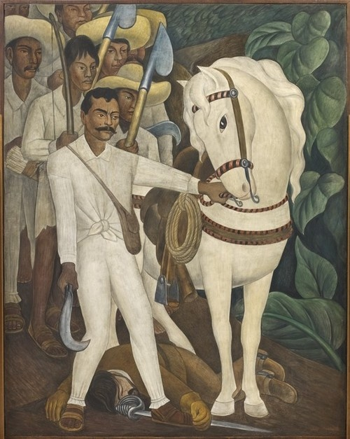 Diego Rivera, 1931, Agrarian Leader Zapata