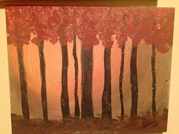 8x10     Trees.