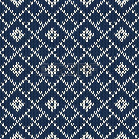 Argyle Diseño suéter. Sin costuras, modelo Foto de archivo
