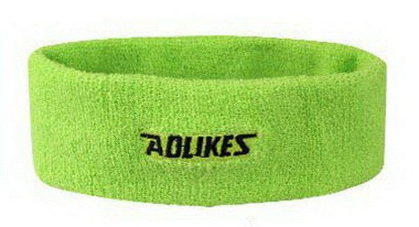 AOLIKES Cotton Sweat Headband For Men Sweatband women Yoga Hair Bands Head Sweat Bands Sports Safety