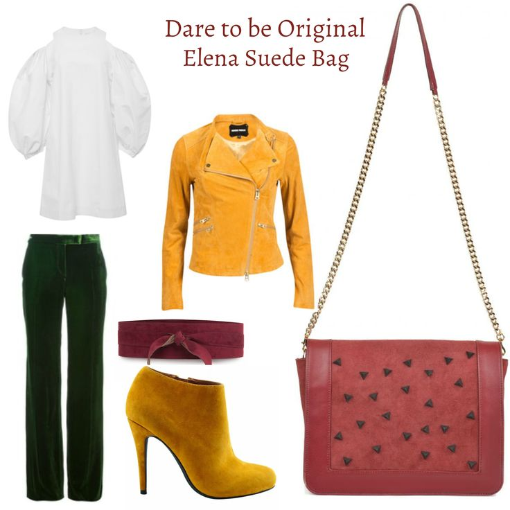 Colorful and vibrant, the Elena suede bag by Wild Inga is perfect for the beginning of the spring. http://bit.ly/Geanta-Elena