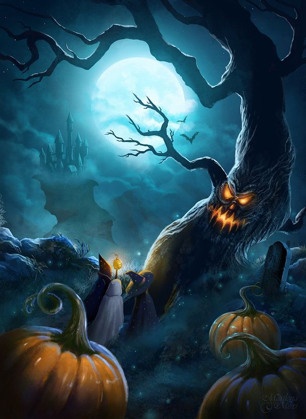 Tools: Wacom + Photoshop Thanks for viewing and Happy Halloween! Marilena