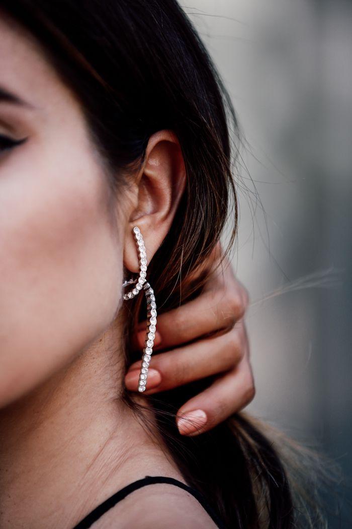 VivaLuxury - Fashion Blog by Annabelle Fleur: BACK TO BLACK ft. RYAN STORER spiral earring