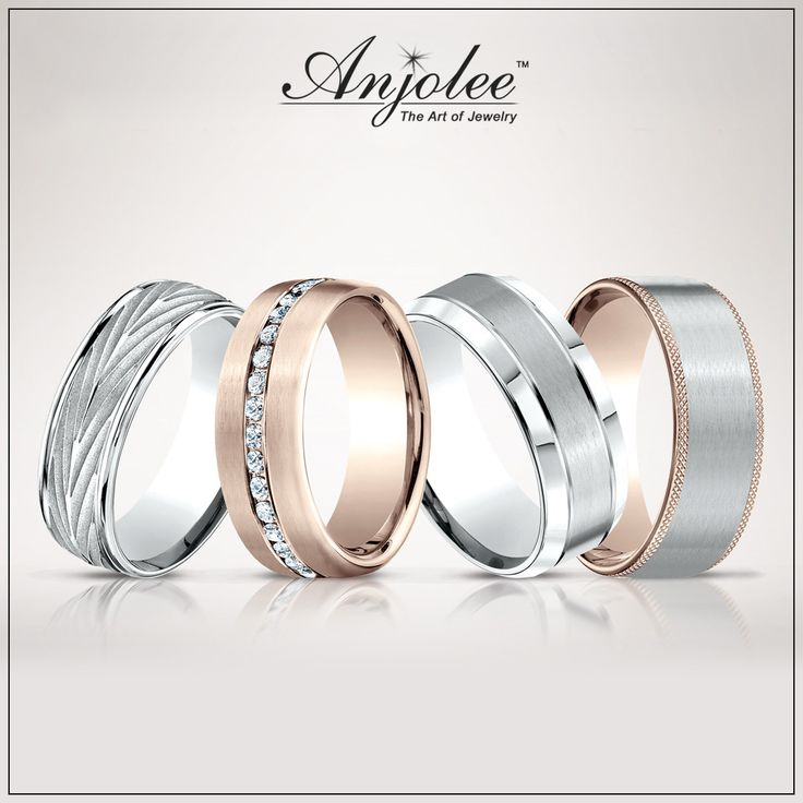 His and hers wedding bands!