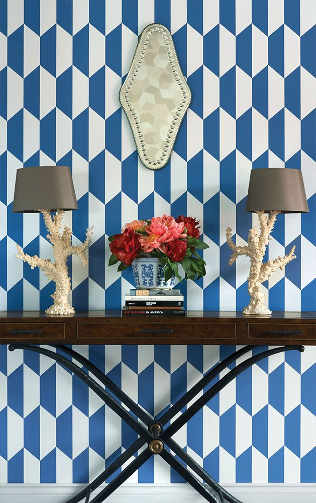 New Collection Cole & Son Geometric 2: Tile. Now available in our online shop: ethnicchic.com