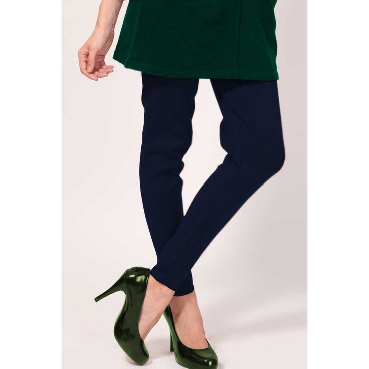 Navy Blue Color Legging Online http://www.andaazfashion.co.uk/womens/legging-s-salwar