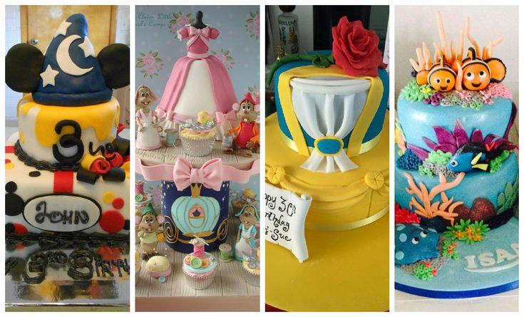 17 bolos da Disney para você se inspirar