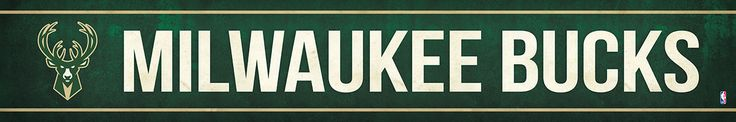 Milwaukee Bucks Street Banner $19.99