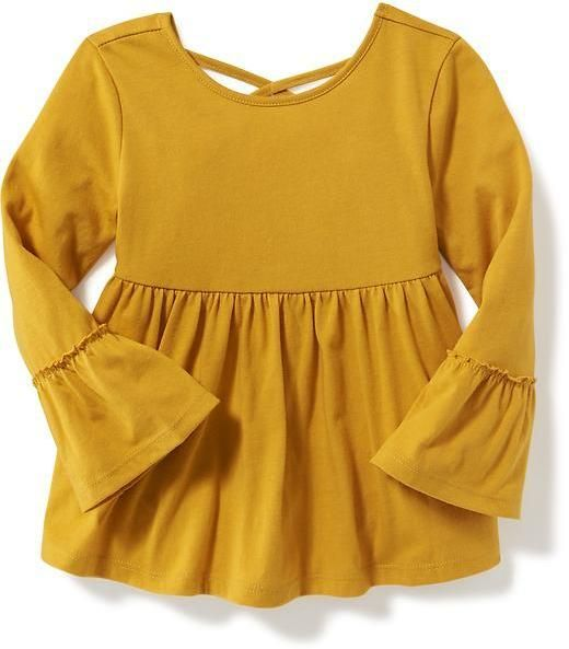 Old Navy Cross-Back Bell-Sleeve Tunic for Toddler Girls