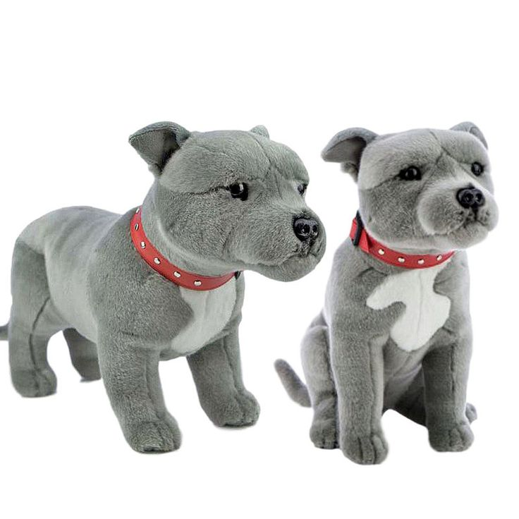 Title: Staffy Bull Terriers (Grey) Stuffed Dogs Pack x 2 - Bocchetta Plush Toys Size:  Price: AUS$ 0.00 Brand : Bocchetta Plush Toys  Lots more items like this available at: www.stuffedwithplushtoys.com 100 Day Returns  Fast Trackable Shipping Amazing Service
