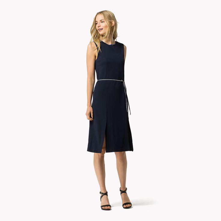 Shop de viscosemix mouwloze jurk en verken de Tommy Hilfiger jurken  collectie voor dames. Gratis retourneren & verzending vanaf €50. 8719109397813