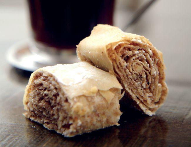 מתכון לעוגיות פילו פריכות במילוי אגוזים וקינמון