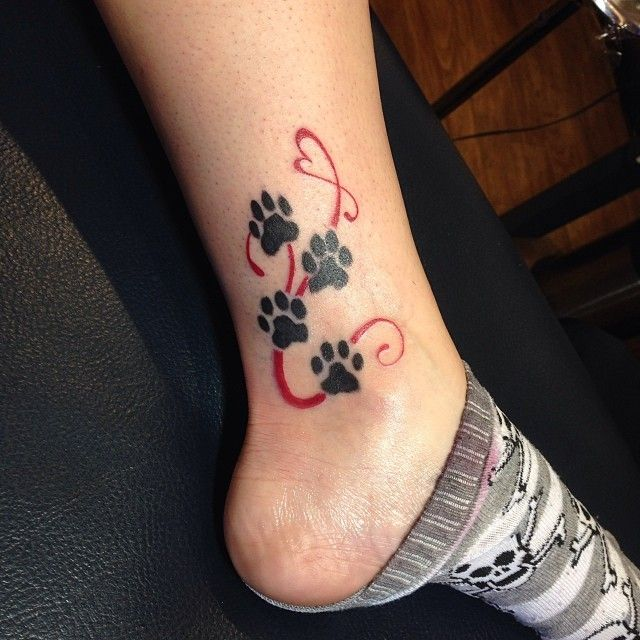 65 Best Paw Print Tattoo Meanings and Designs – Nice Trails