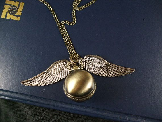 harry potter pocket watch the death hallows Cicada by romeilushop, $0.20