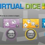 Virtual Dice and other cool tools to help show the math