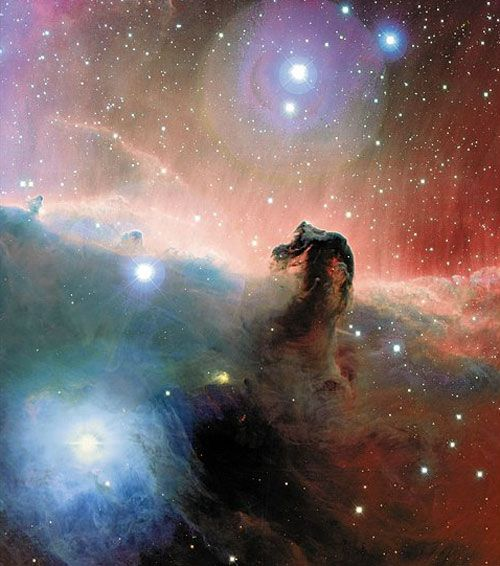 The Colorful Horsehead Nebula