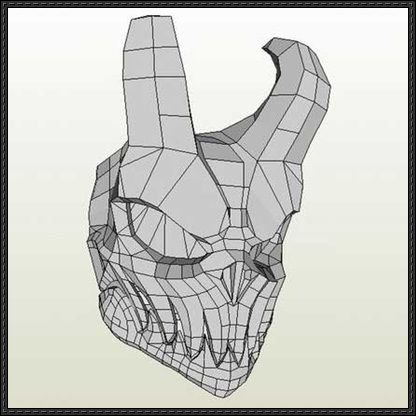 12 best pepakura images on pinterest paper crafts papercraft and new paper craft hell skull mask papercraft free template download on papercraftsquare publicscrutiny Images