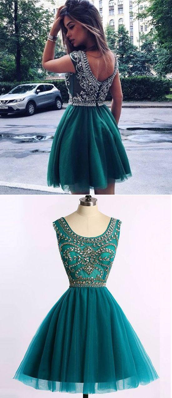 turquoise short homecoming dresses, short homecoming dresses turquoise, beaded prom dresses 2017, 2017 prom dresses cheap, tulle prom dresses for women, women's prom dresses beaded, sexy prom dresses for women