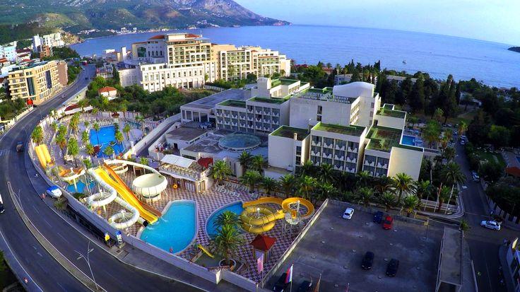 Hotel Mediteran in Becici, Budva, Montenegro #hotel #Budva #Montenegro #summer #vacation #resort #wellnessandspa #aquapark #relaxation