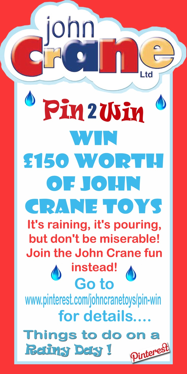 New John Crane competition - details coming soon!