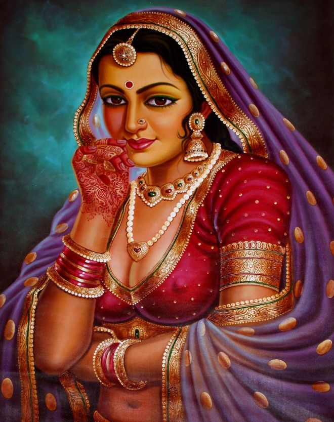 Indian painting has a very long tradition and history in Indian art.