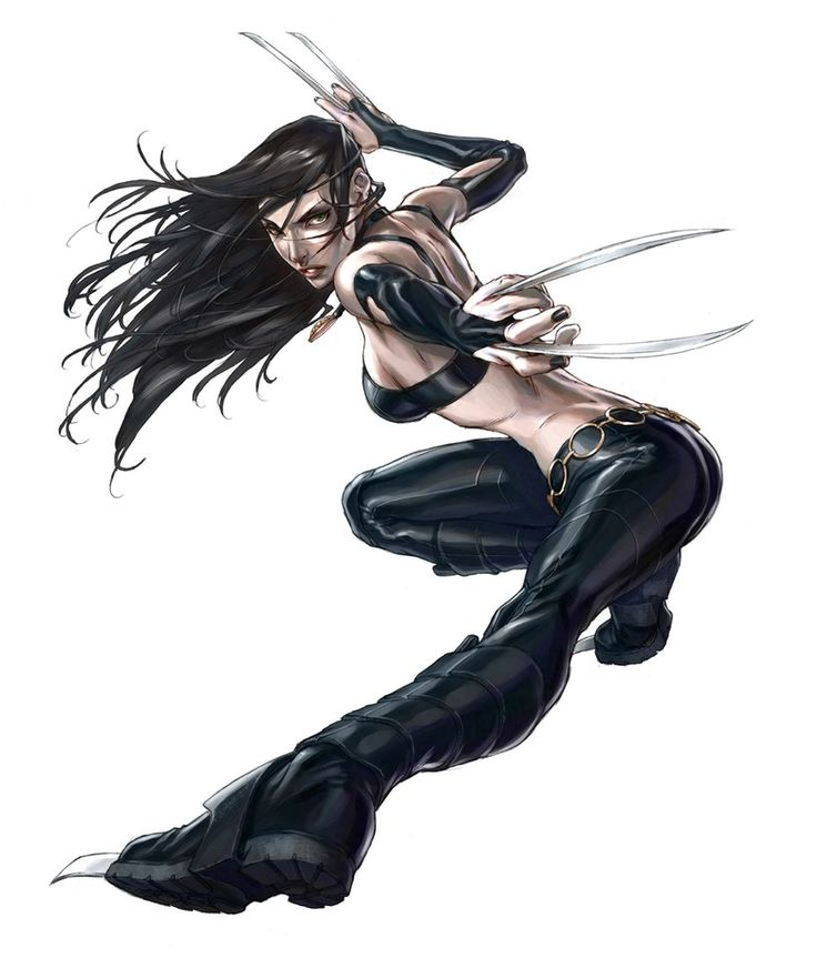 X-23 - by Alvin Lee | #comics #marvel | X-Men | Pinterest