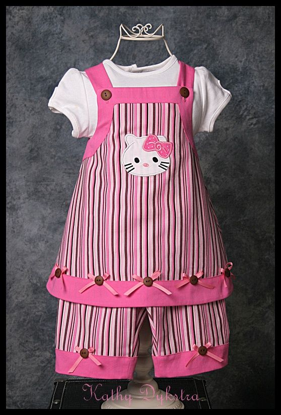 SewForum.com • View topic - Hello Kitty dress & capri