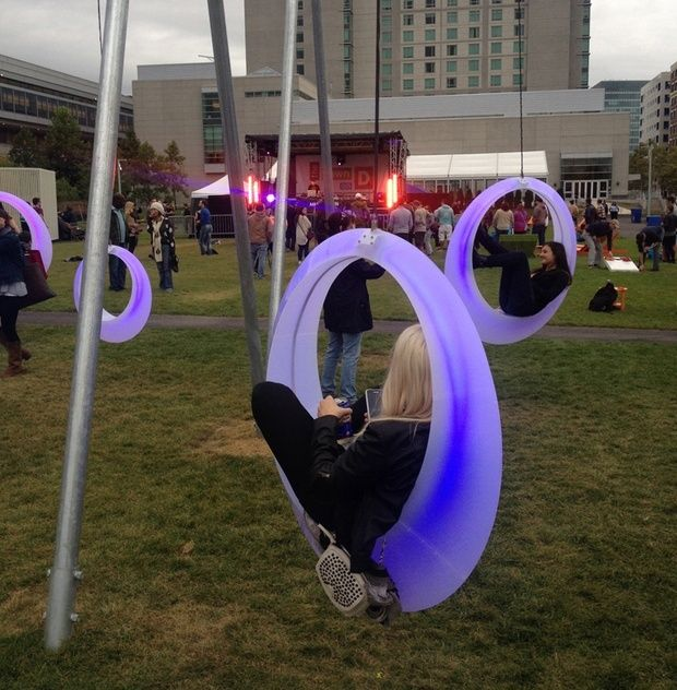 Wait Your Turn for the Swings at Boston's Adult Playground - The Atlantic