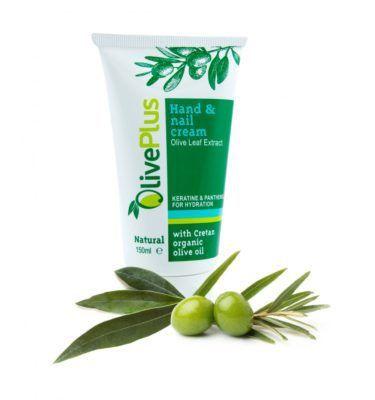 Hand en nagel creme met olijfblad extract 150ml. nagelcreme handcreme