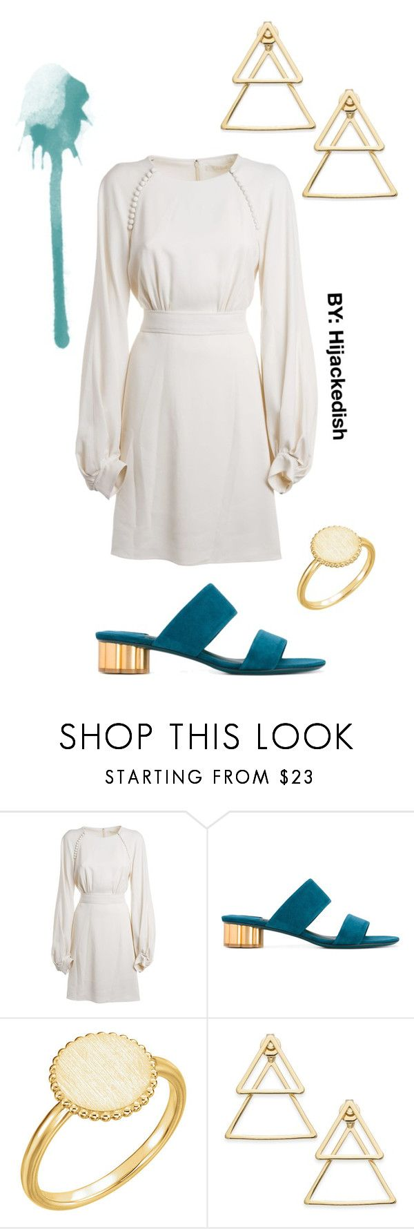 """Slightly angelic"" by hijackedish on Polyvore featuring Chloé, Salvatore Ferragamo and INC International Concepts"