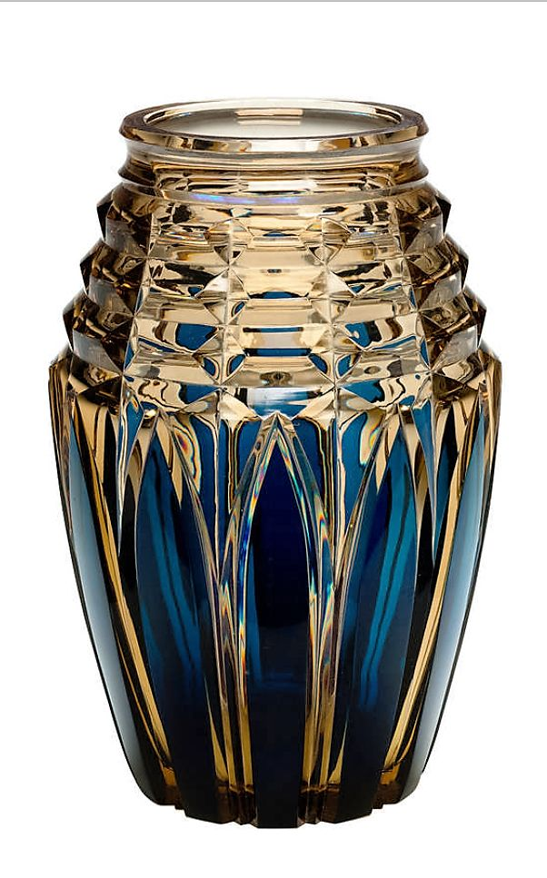 1000 Images About Val St Lambert 1930 1940 On Pinterest Glass Vase Overlays And Deco