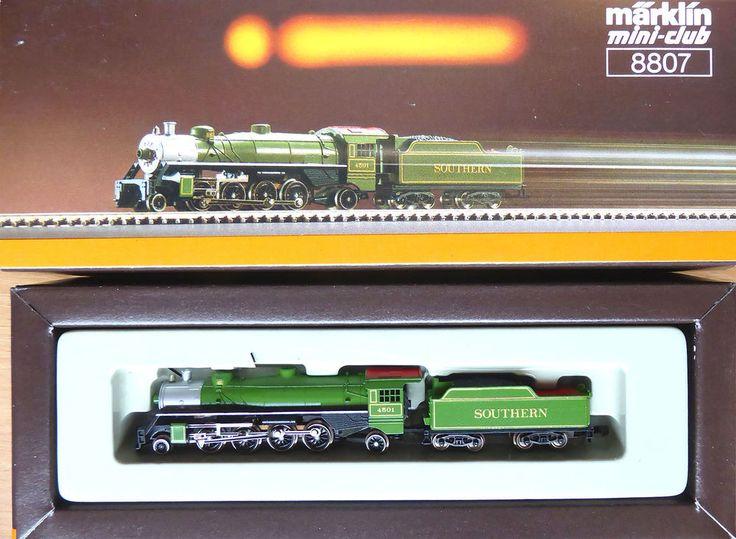 "Marklin Z 8807; USRA 2-8-2 Mikado ""Southern"", new/boxed #Marklin"