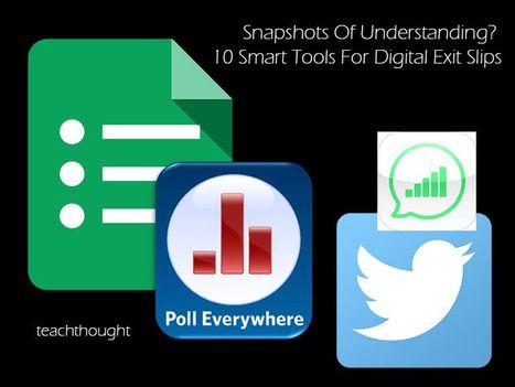 10 applicazioni web per verificare in tempo reale la comprensione degli studenti - 10 Smart Tools For Digital Exit Slips | AulaMagazine Scuola e Tecnologie Didattiche | Scoop.it