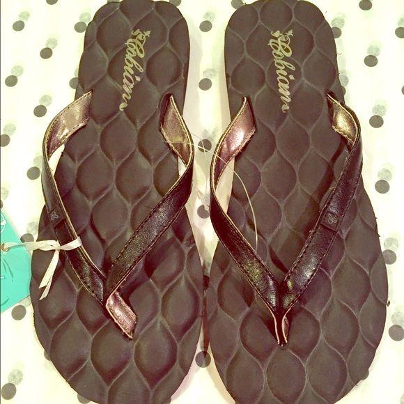 Cobian flip flops Black Cobian flip flops.. NWT Cobian Shoes Sandals