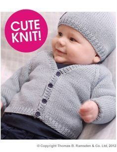 Eight by Six: free knitting pattern - baby cardigan ...