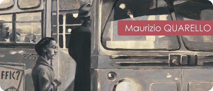 """Maurizio Quarello """"L'autobus di Rosa"""" Orecchio acerbo"""