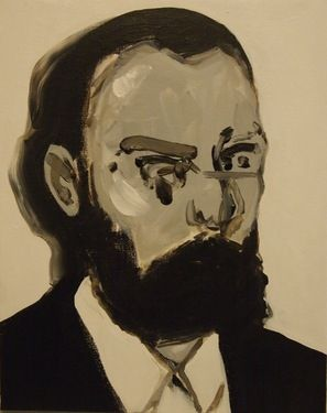 "Saatchi+Online+Artist+Miguel+Laino;+Painting,+""Didier""+#art"
