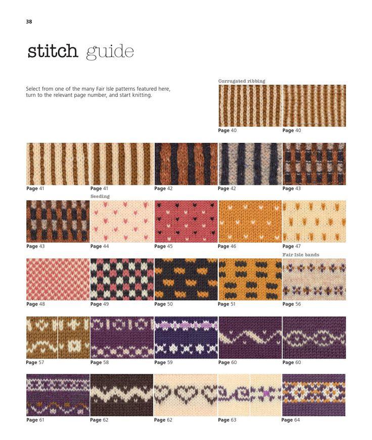 134 best Punto y ganchillo: Motivos images on Pinterest | Knitting ...