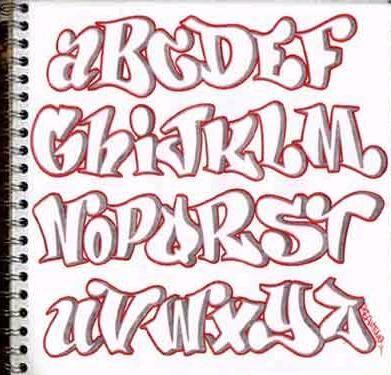 25 melhores ideias de alfabeto de graffiti no pinterest for Estilos de letras