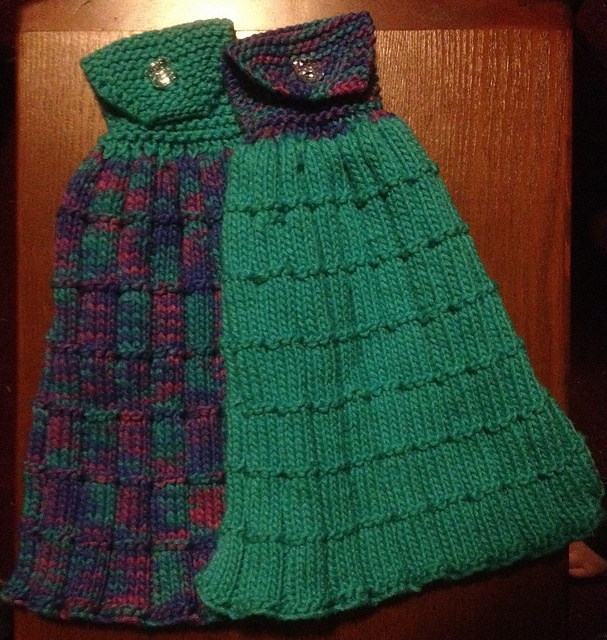 Ravelry: Kitchen Towel with Matching Washcloth pattern by Plymouth Yarn Company