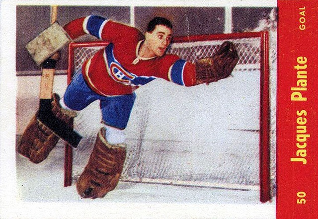 Jacques Plante: 60 Best Images About National Hockey League Players From