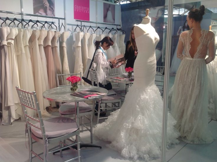 Our booth in NY International Bridal Week.