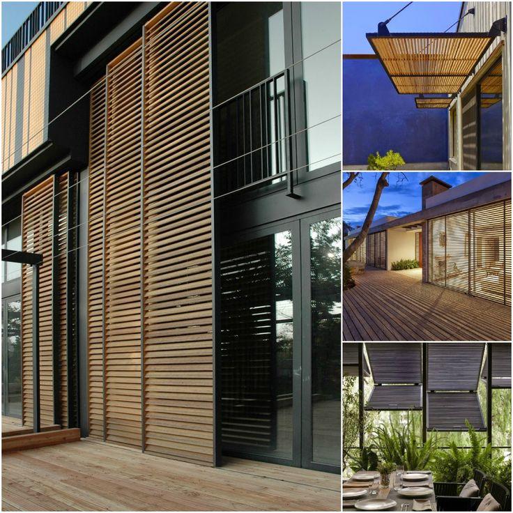 #shutters #wood #oudside #modern #exterior #window #louvered #raamdecoratie #zonwering #hout #mini #moodboard #minimoodboard #leemwonen #blogazine