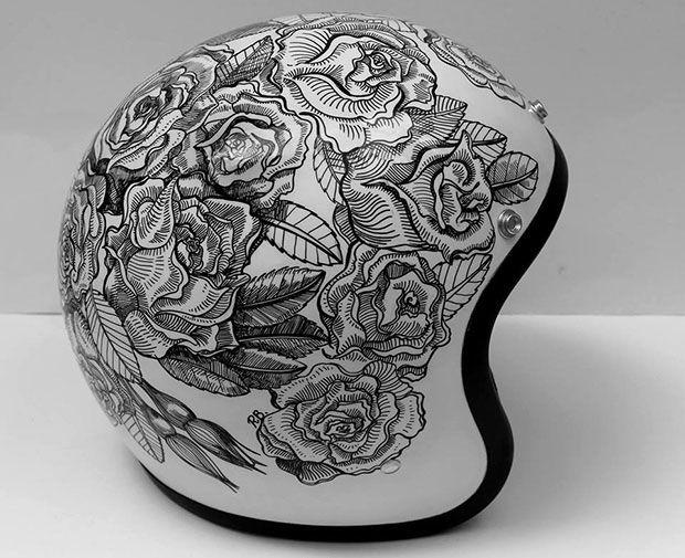 Custom Lids - Custom Designed Motorcycle Helmets - King of Fuel
