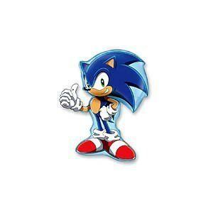 "Sonic the Hedgehog 39 Mylar Balloon by Flexmetal. $13.75. 39"" Balloon Shaped like Sonic the Hedgehog"