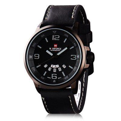 Apenas €14.2 + envio grátis, compre Naviforce 9028 Relógio de Quartzo com Movimento de Japão para Homem online na GearBest PT.