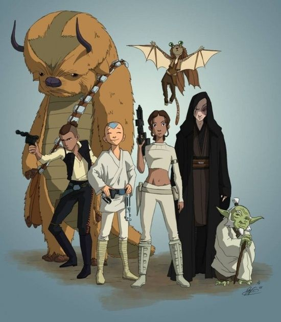 Avatar: The Last Airbender/Star Wars There's Just One Prob