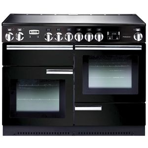 Falcon 110cm Black Professional Induction/electric Cooker