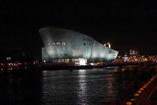 Amsterdam Nemo at night