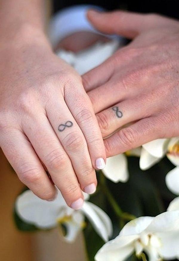 Tatuagens como alianças